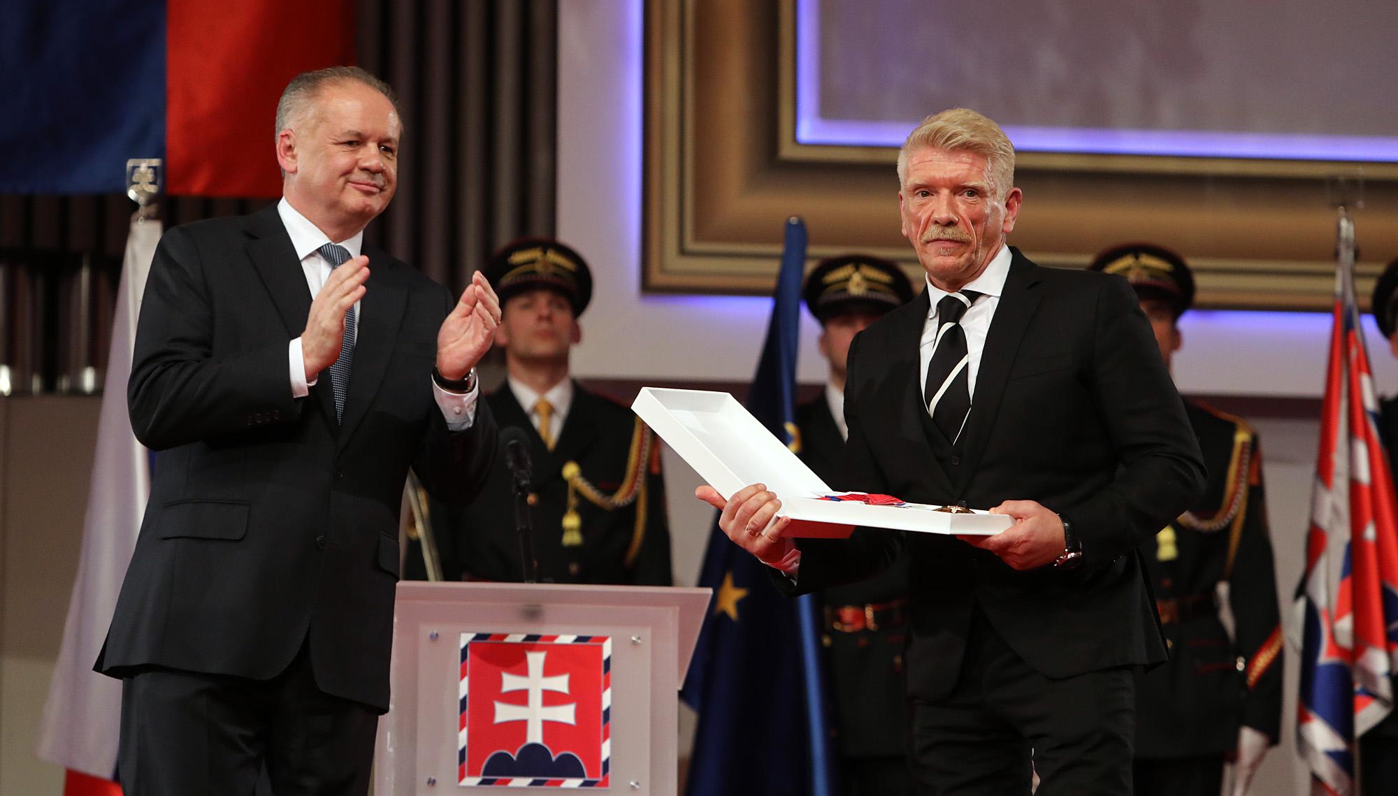 Patrón FFi, Richard Stanke, získal štátne vyznamenanie