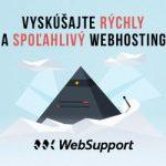 websupport - Zaregistrujte si doménu a získajte webhosting od najväčšieho poskytovateľa hostingu na Slovensku. Dôveruje nám už viac ako 55 000 zákazníkov.