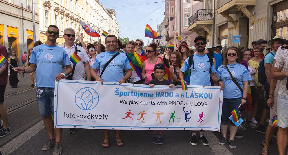 Lotosové kvety: Prezentácia LGBTI športového klubu